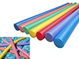 Shenyo Swim Noodles, Pool Floating Durable Aid Thick Foam Tube Swimming Sticks for Swim Training Aids, Sport