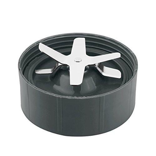 xhorizon Ersatz von Kreuz- und Flachklinge für Ersatzteil der Magic Bullet Blender, Mixer, Saftpresse und Küchenmaschine