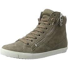 Kennel und Schmenger Schuhmanufaktur Damen Queens-Sneaker-Zip High-Top