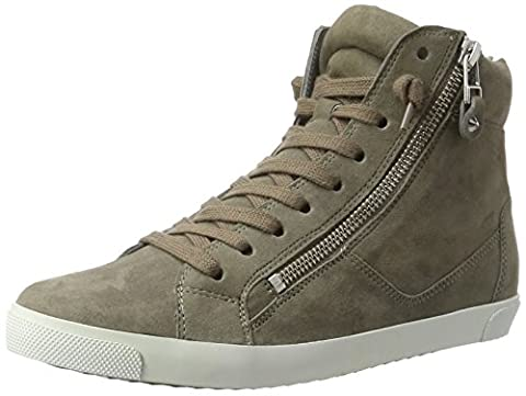Kennel und Schmenger Damen Queens High-Top, Grau (Rock Sohle Weiss), 40.5 EU (7 UK)