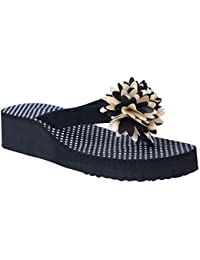 HD Casual Rubber Flip-Flop Slippers for Women