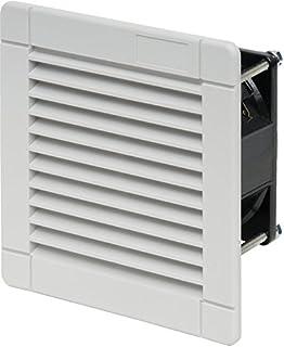 Schneider NSYCAG125LPC Set RAL7032Ausgangsgitter O Filterl/üfter-Ausschnitt 125X125Au/ß 170x150mm