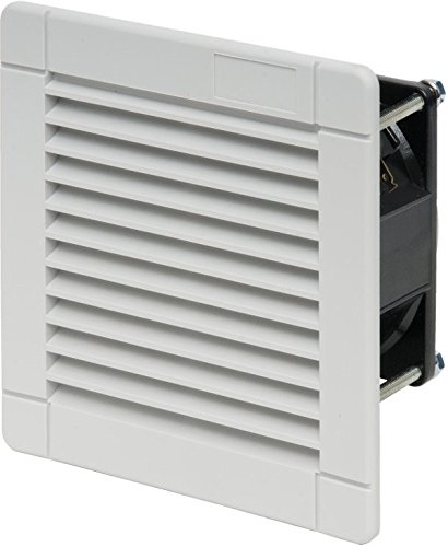 FINDER 7F5082301020 - VENTILADOR CON FILTRO PARA USO INTERNO 24 M³/H AC (50/60HZ) 230 V 13 W TAMAñO 1 92 X 92 MM COLOR BLANCO