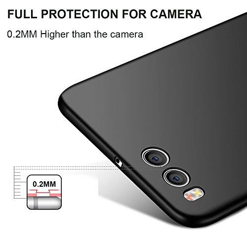 """Xiaomi Mi Note 3 (5.5"""") Hülle, MSVII® Sehr Dünn Hülle Schutzhülle Case Und Displayschutzfolie für Xiaomi Mi Note 3 (5.5"""") - Rot / RED JY00390 Gold"""