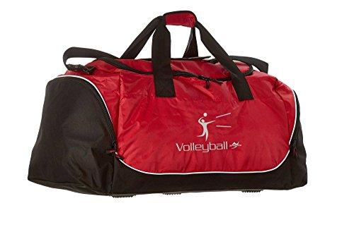 Tasche Jumbo QS88 rot Volleyball
