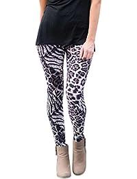 OverDose leggings mujer deporte pantalones elásticos de impresión ... e6b9bf24c266