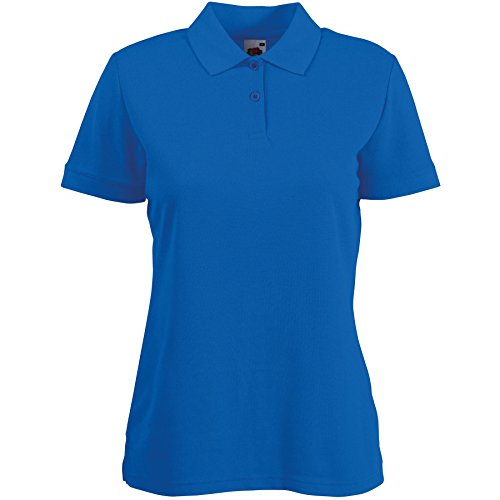 fruit-of-the-loom-lady-fit-pique-polo-shirt-s-xxl-9-colours-large-36-size-14-royal-blue