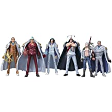 One Piece: Marine Never in the Name of Justice Trading Figure Box of 8 Pieces (japan import)