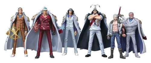 One Piece: Marine Never in the Name of Justice Trading Figure Box of 8 Pieces (japan import) 1