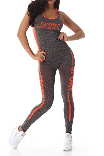 Fashion -  Completo sportivo  - Donna Orange MH-13