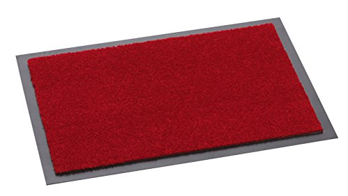 Felpudos Exteriores  de polipropileno rojo (90 cm x 60 cm x 0,5 cm