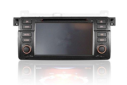 Gowe Auto DVD-Player 17,8cm GPS Navigation für BMW E46M3/Old 3Series 3183203251998–2006MIT BLUETOOTH/Radio/RDS/IPOD/ATV/Canbus/SWC