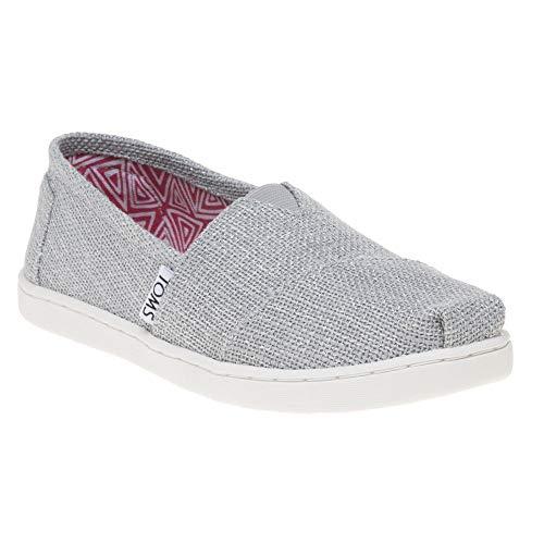 TOMS Classic Kinder Schuhe Metallisch