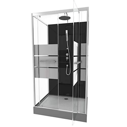 Aurlane Cabine de Douche Rectangle 110x80x225cm - Scratchy 110