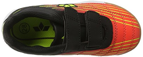 Lico Rockfield V, Chaussures de Handball Mixte Enfant Orange (Orange/schwarz/lemon)