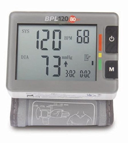 Bpl Medical Technologies Bp Monitor 120/80 B7 - (Grey)