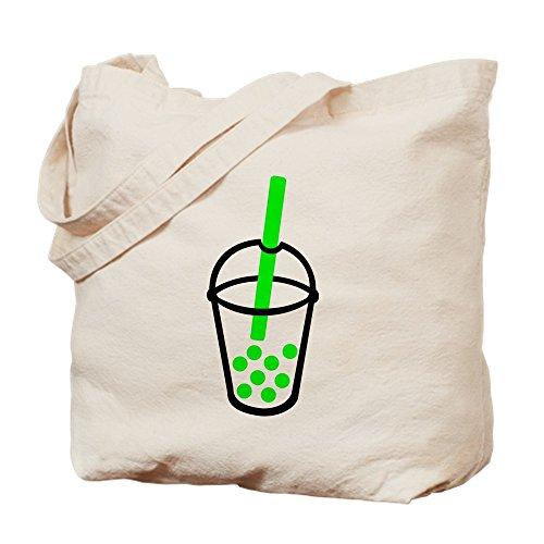 CafePress–Bubble Tea Tasche–Leinwand Natur Tasche, Reinigungstuch Einkaufstasche Tote S khaki (Bubbles Tote Tasche)