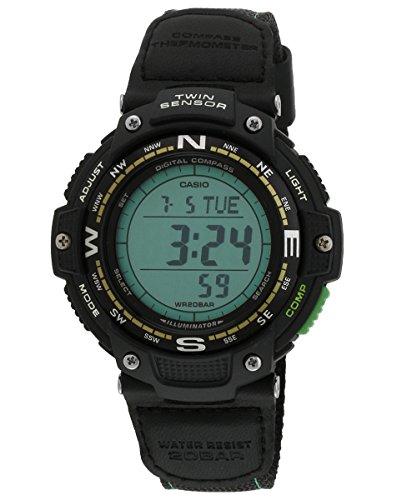 casio uomo pro trek bussola sensore doppia digitale sport di quarzo reloj (modelo de asia) sgw-100b-3a2