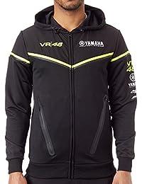 Valentino Rossi Sudadera con cremallera Yamaha Line Negro
