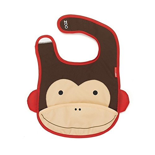 Skip Hop - Babero con diseño de mono