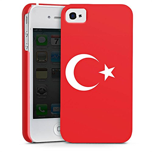 Apple iPhone X Silikon Hülle Case Schutzhülle Flag of Turkey Türkei Flagge Türkiye Premium Case glänzend