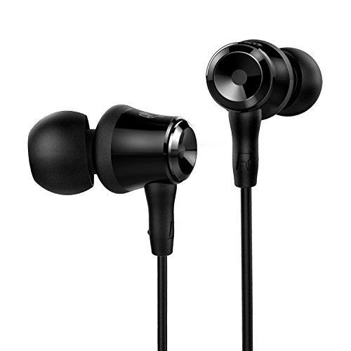 SoundPEATS B10 Auriculares in-ear cascos deportivos ,conexion Jack 3.5mm y Anti-sudor para...