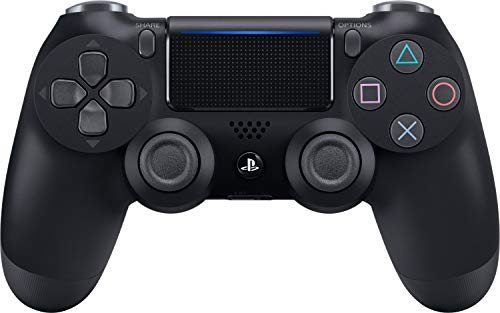 PlayStation 4 - DualShock 4 Wireless Controller (schwarz) (Ps4 Spiele Video-spiele)