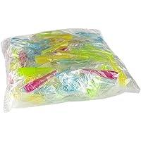 200 unidades de boquillas de higiénicas para cachimba - Boca para manguera de shisha - Envasadas individualmente - Diferentes colores (Largo 200 unidades)