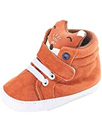Reasoncool Baby Girl ragazzi Fox High Cut Shoes Sneaker antiscivolo morbida Sole Bambino