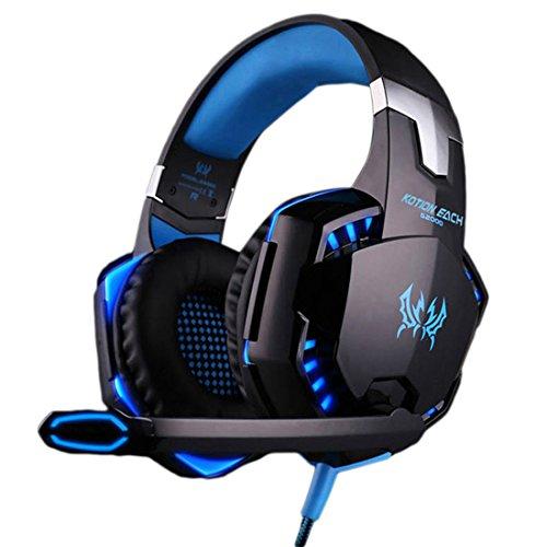 Geschlossener Spielen mit Sprechmuschel G2000 Hifi-Kopfhörer Kopfhörer Headset