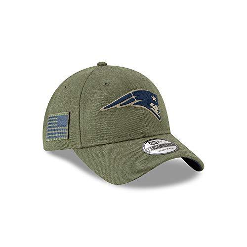 Imagen de a new era era england patriots 9twenty adjustable cap on field 2018 salute to service green  one size alternativa