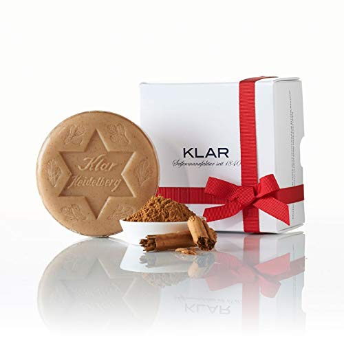 Klar's Christmas Thaler Limited Edition, cinnamon 125g (Soap-hormone)