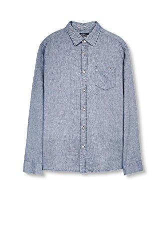 ESPRIT Herren Freizeithemd Blau Blau (blue 430)