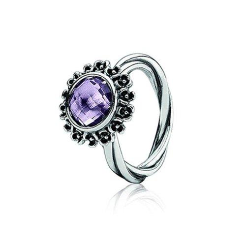 Pandora anello in argento con perla, misura o.5 190850pam56