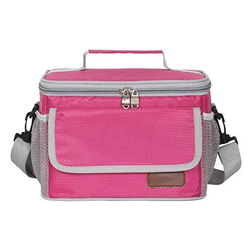 Funihut borsa per il pranzo, riutilizzabile, isolata, durevole, impermeabile, isolante, in eva, anti-goccia, borsa per il pranzo, borsa a tracolla semplice, borsa termica a freddo, d