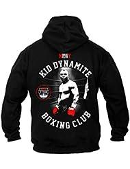 Dirty Ray Boxe Kid Dynamite Boxing Club Sweat homme avec capuche B22