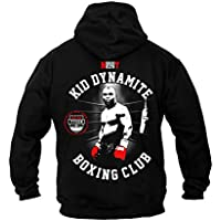 Dirty Ray Boxeo Kid Dynamite Boxing Club sudadera hombre con capucha B22 (XL)