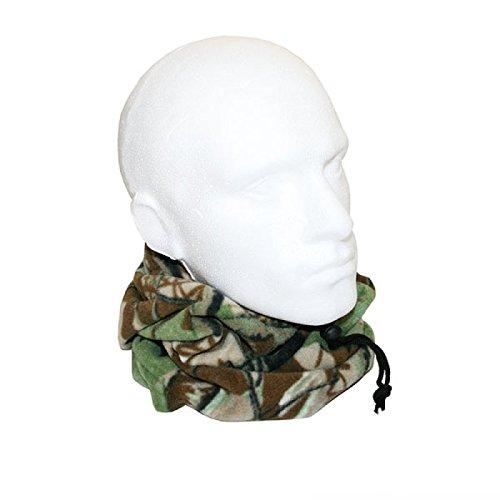 Deluxe Snood Loop Scarf Neck Warmer Bandana Camouflage Pattern