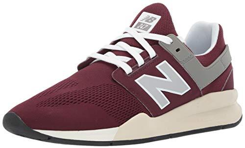 New Balance Herren 247v2 Sneaker, Rot (Nb Burgundy/Bone Mg), 42 EU