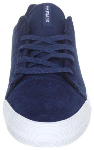 Supra Assault S02044 Sneaker Uomo Blu blau navy Blue Suede nylon