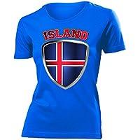 love-all-my-shirts Island Fanshirt - Damen T-Shirt Gr.S bis XXL - Golebros