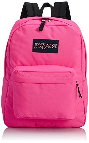 jansport-superbreak-rygsaek-flourescent-pink