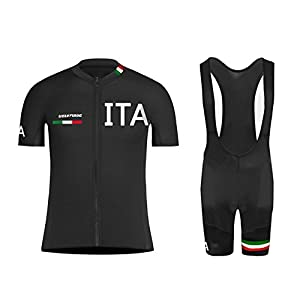41tkOwjml L. SS300 Uglyfrog 208-2019 MTB New Uomo Body Short Sleeve Cycling Jersey + Salopette Country Code Mountain Bike Manica Corta…