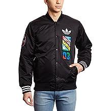 new style 6bd6f ea6d2 Adidas Labels SST JK – Tuta per Uomo, Colore Nero