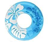 1/90cm klar Farbe schwimmt Donut aufblasbare Schwimmen Ring Sommer Wasser Spielzeug aufblasbar schwimmt Pool Toys Schwimmbrett für Erwachsene blau