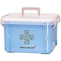 Praktisches Design Home Use-Medizin-Kasten Erste-Hilfe-Kit Box Plastikbehälter Emergency Kit Portable Storage... preisvergleich bei billige-tabletten.eu