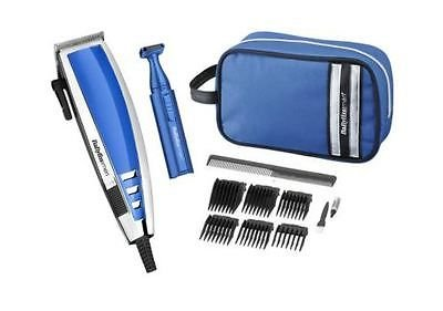 deluxe hair trimmer - 41tkREeKNFL - HIGH QUALITY BABYLISS MENS DELUXE HAIR TRIMMER CLIPPER GIFT SET INCLUDES WASH BAG