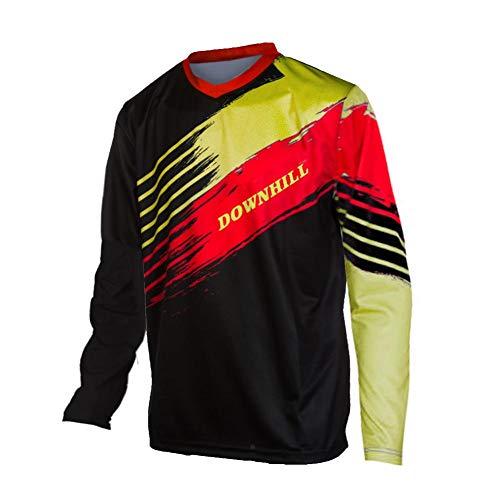 Uglyfrog Designs Motorräder, Ersatzteile & Zubehör Erwachsener Motocross Jersey Cross Offroad Enduro Downhill/Funktionswäsche Shirt Atmungsaktiv Lange Ärmel Rundhalsausschnitt or V-Ausschnitt -