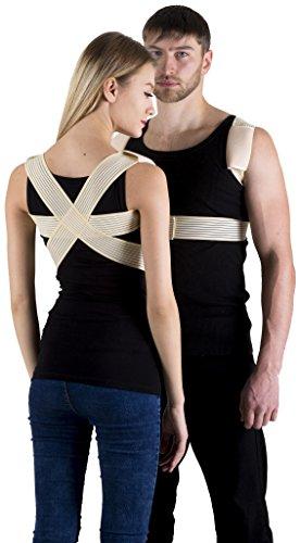 INFINITUM MEDICAL DELUXE GERADEHALTER Unterer Rückseite Rückenhalter, Orthopädischer Stabilisator, Rücken Haltungsbandage Rückenstütze Haltungskorrektur (XS)
