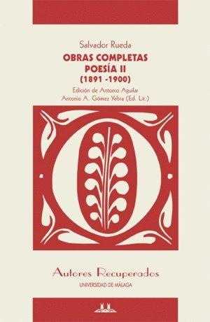Obras Completas: Poesia II (1891-1900) (Autores Recuperados)